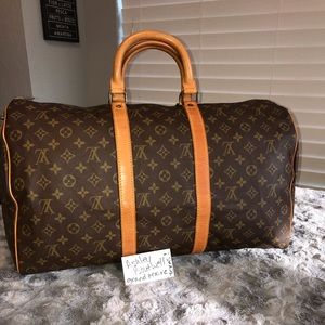 Vintage Authentic LV Keepall 50